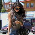 Selena Gomez dans les rues de Los Angeles, le 26 avril 2013.
