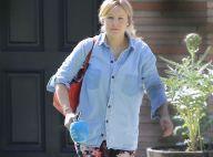 Kristen Bell : Fleurie et stylée pour sa première sortie après bébé !