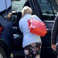 Kristen Bell fait une première apparition depuis la naissance de sa fille à Los Angeles, le 28 avril 2013.