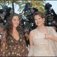 Claudia Cardinale et sa fille Claudia à Cannes en mai 2007.