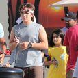 Exclu - Prince et Blanket Jackson quittent leur cours de karaté à Beverly Hills, le 7 octobre 2012.