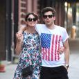Keira Knightley et James Righton à New York, le 1er juillet 2012.