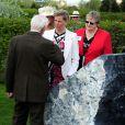 La comtesse Sophie de Wessex était visiblement émue le 7 mai 2013 au National Memorial Arboretum d'Alrewas, dans le Staffordshire, lors de l'inauguration du monument à la mémoire des Bevin Boys, héros de guerre dont les mérites sont enfin reconnus.