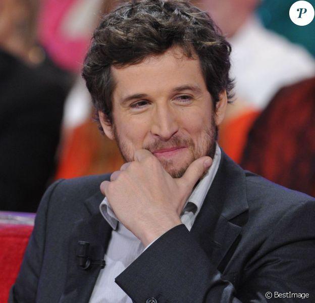 Guillaume Canet lors de l'émission Vivement Dimanche le 10 mars 2013.