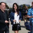 Lana Del Rey le 14 mai à l'aéroport de Nice pour le 66e Festival de Cannes.