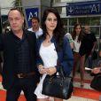 Lana Del Rey arrive à l'aéroport de Nice pour le 66e Festival de Cannes, le 14 mai 2013.