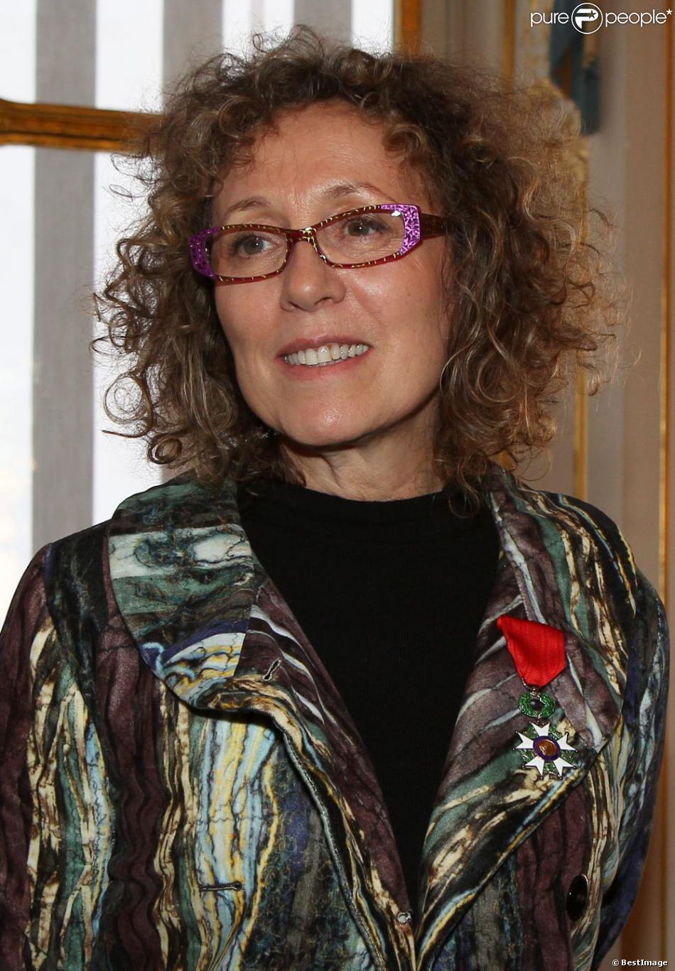 Mireille Dumas à Paris, le 12 décembre 2011.