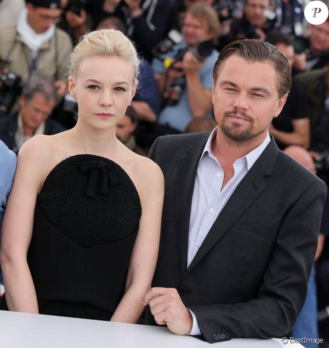 Leonardo Dicaprio Pourrait Jouer Dans Gatsby Le Magnifique: Carey Mulligan, Leonardo DiCaprio Au Photocall De Gatsby