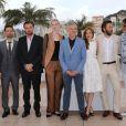 Carey Mulligan, Tobey Maguire, Leonardo DiCaprio, Elizabeth Debicki, Baz Luhrmann, Isla Fisher, Joel Edgerton, Amitabh Bachchan au photocall de Gatsby le Magnifique au 66e Festival International du Film de Cannes le 15 mai 2013.