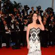 Lana Del Rey à la montée des marches de Gatsby le Magnifique en cérémonie d'ouverture du Festival de Cannes, le 15 mai 2013.