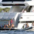 La famille royale d'Espagne sur le yacht Fortuna en 2006