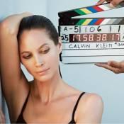 Christy Turlington, 44 ans, renfile ses sous-vêtements pour Calvin Klein