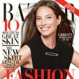 Christy Turlington en couverture du Harper's Bazaar du mois de juin