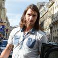 Zlatan Ibrahimovic dans les rues de Paris le 19 septembre 2012