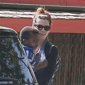 Sandra Bullock : Maman ravie et routinière avec le petit Louis