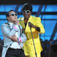 PSY et Tracy Morgan lors des Billboard Music Awards à Las Vegas, le 19 mai 2013.