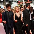 Valeria Bruni-Tedeschi, Louis Garrel lors de la montée des marches du film Un château en Italie au Festival de Cannes le 20 mai 2013