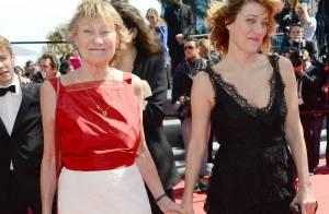 Cannes 2013 : Valeria Bruni-Tedeschi et sa mère Marisa Borini, main dans la main