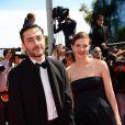 Filippo Timi, Céline Sallette lors de la montée des marches du film Un château en Italie au Festival de Cannes le 20 mai 2013