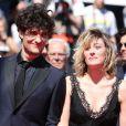 """Louis Garrel et Valeria Bruni Tedeschi - Montee des marches du film """"Un chateau en Italie"""" lors du 66 eme Festival du film de Cannes - Cannes 20/05/2013"""