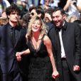 """Louis Garrel, Valeria Bruni Tedeschi et Filippo Timi - Montee des marches du film """"Un chateau en Italie"""" lors du 66 eme Festival du film de Cannes - Cannes 20/05/2013"""