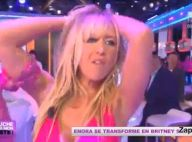 Enora Malagré, très sexy en Britney Spears, fait grimper la température !