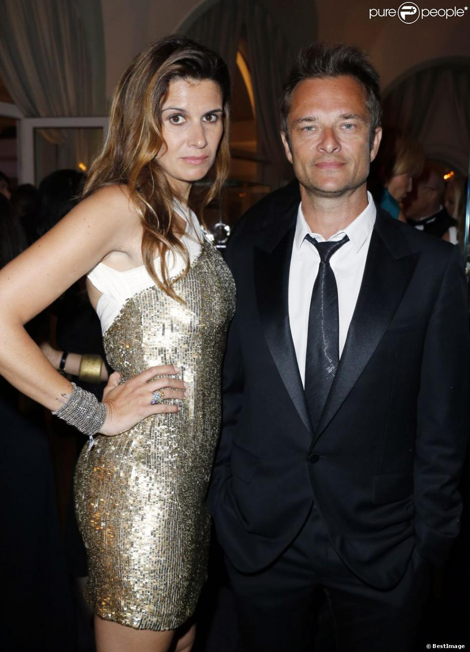 David Hallyday et sa femme Alexandra - Intérieur de la soirée De Grisogono à l'Eden Roc au Cap d'Antibes lors du 66e Festival du film de Cannes. Le 21 mai 2013.