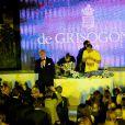 Intérieur de la soirée De Grisogono à l'Eden Roc au Cap d'Antibes lors du 66e Festival du film de Cannes. Le 21 mai 2013.