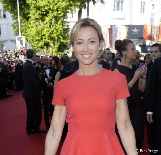 Anne Sophie Lapix au 66e Festival du film de Cannes - 17 mai 2013