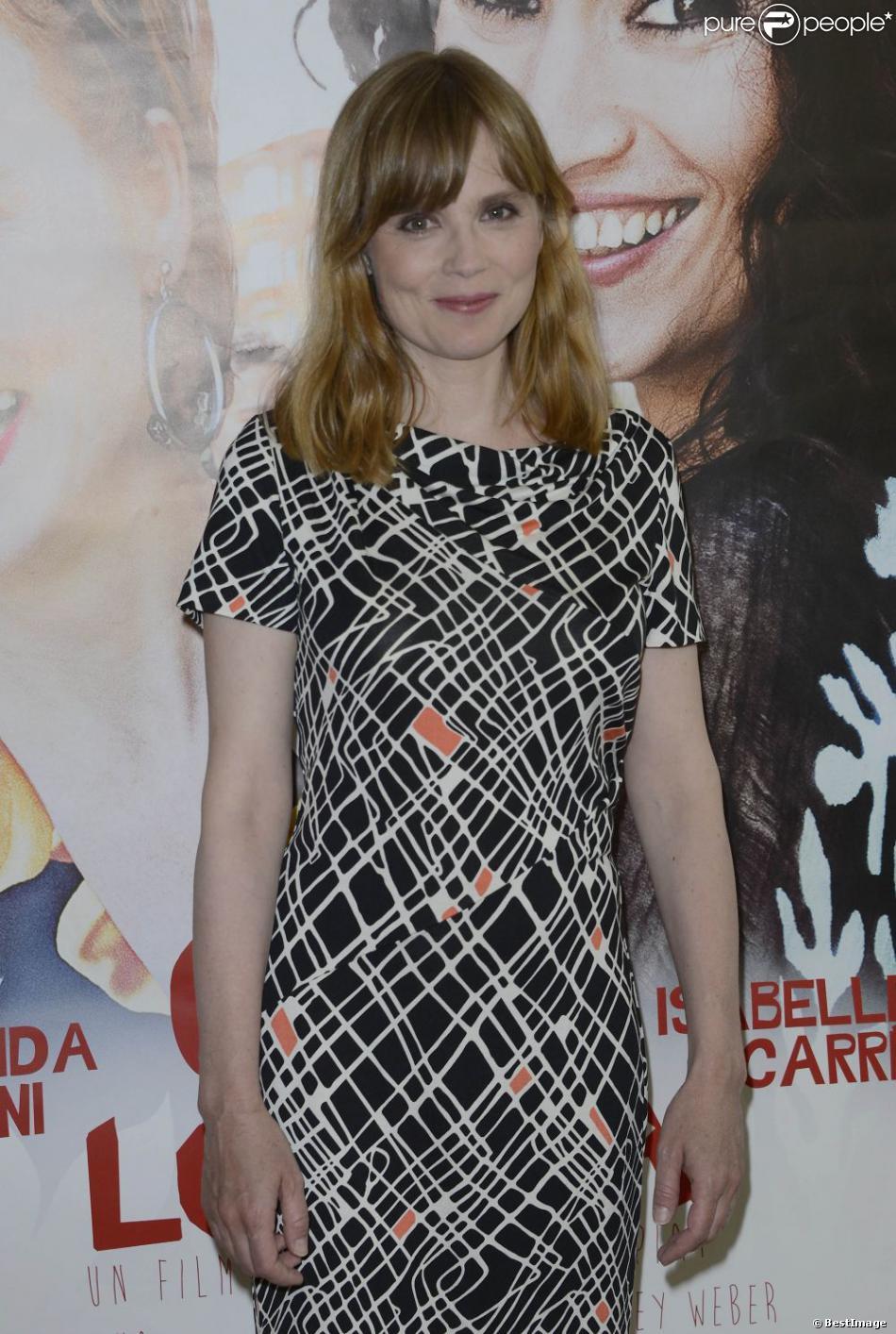 Isabelle Carré lors de l'avant-première du film Cheba Louisa le 6 mai 2013