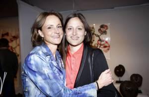 Marie-Laure de Villepin et sa fille Victoire : Vernissage de sa nouvelle vie