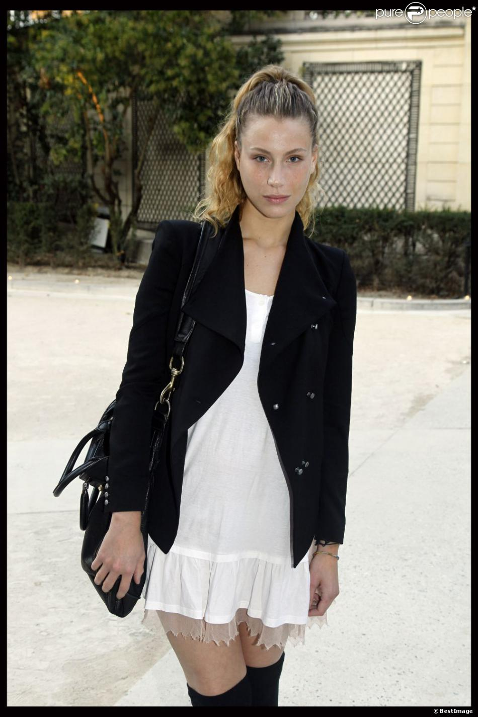 Marie de Villepin à Paris le 30 septembre 2011....