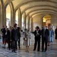 Camilla Parker Bowles a pu savourer une visite privée du Musée du Louvre, mardi 28 mai 2013 lors de la fermeture hebdomadaire de l'établissement, avant de reprendre l'Eurostar pour rentrer à Londres après sa visite de deux jours.