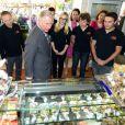 Le prince Charles en Allemagne le 28 mai 2013, au deuxième jour de sa visite dans le Land de Bade-Württemberg.