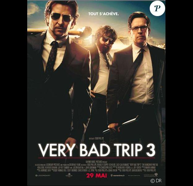 L'affiche du film Very Bad Trip 3, en salles depuis le 29 mai 2013