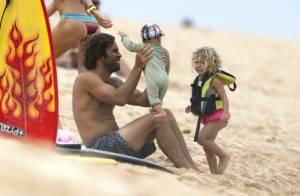 Jack Johnson : Papa poule, papa cool à Hawaï avec Kim et leurs enfants