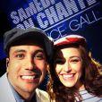 Merwan Rim en photo avec Natasha St-Pier pendant les répétitions de Samedi soir on chante France Gall