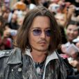 Johnny Depp au Toronto International Film Festival le 8 septembre 2012.
