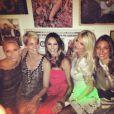 Victoria Silvstedt, Stacy Keibler et des amies à Monaco, le 26 mai 2013