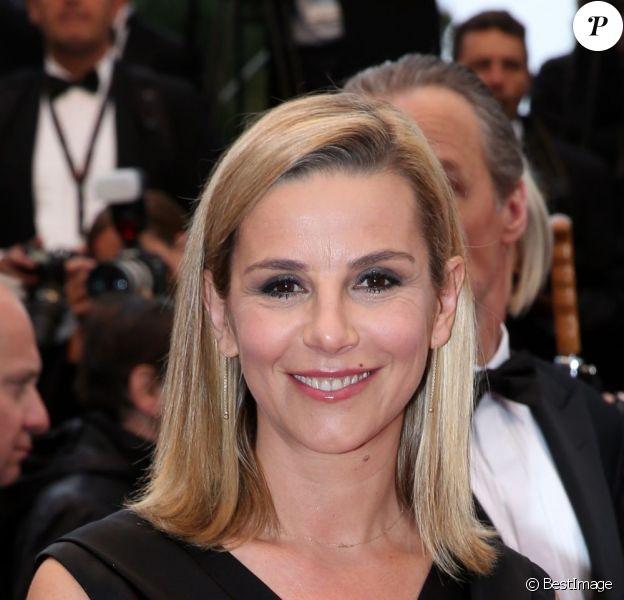 Laurence Ferrari lors du 66e festival du film de Cannes, le 18 mai 2013.