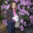 Sylviane Mauboussin à l'inauguration de l'exposition L'art du jardin qui a transformé le Grand Palais en serre géante. Photo prise le 30 mai 2013 à Paris.