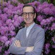 Bruno Frisoni, directeur artistique de Roger Vivier,  à l'inauguration de l'exposition L'art du jardin qui a transformé le Grand Palais en serre géante. Photo prise le 30 mai 2013 à Paris.