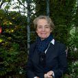 Anne-Claire Taittinger  à l'inauguration de l'exposition L'art du jardin qui a transformé le Grand Palais en serre géante. Photo prise le 30 mai 2013 à Paris.