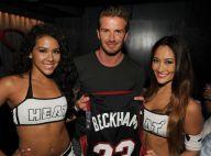 David Beckham : Deux sublimes créatures pour un souvenir inoubliable