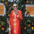 Ashley Olsen lookée à la 6e édition du Veuve Clicquot Polo Classic, le 1er juin à Jersey City.
