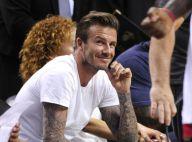 David Beckham : Décontracté devant les stars du Heat, Justin Bieber indifférent