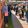 La superbe Alexandra Rolsenfeld au village Roland-Garros pendant les internationaux de France de tennis 2013 à Paris, le 4 juin 2013