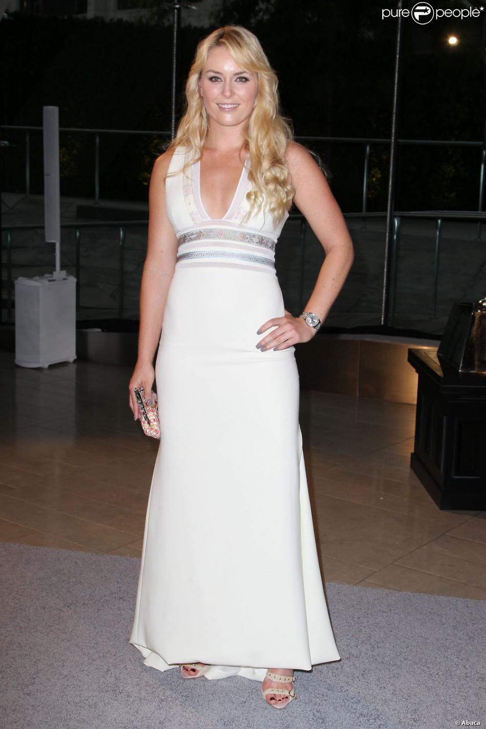 Lindsey Vonn lors des CFDA Fashion Awards 2013 au Lincoln Center's Alice Tully Hall de New York City le 3 juin 2013
