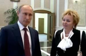 Vladimir Poutine et Lioudmila :