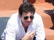 Roland-Garros 2013: Patrick Bruel souriant, malgré la cuisante défaite de Tsonga